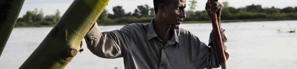Fisherman, Niger River, Niamey region